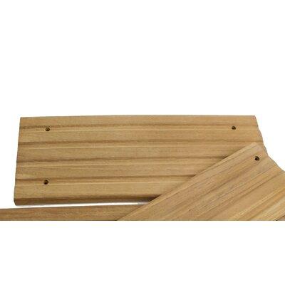 Teak 11.5 x 4.75 Deck Step