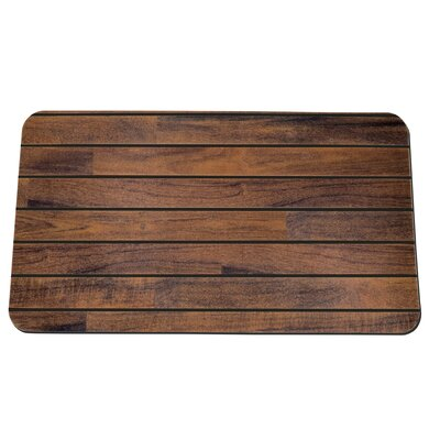 Teak & Holly Anti-Fatigue Kitchen Mat Color: Black