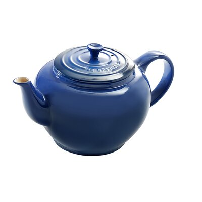 Le Creuset 22-Ounce Small Teapot with Infuser in Cobalt
