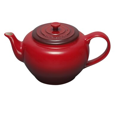 Le Creuset 22-Ounce Small Teapot with Infuser in Cherry