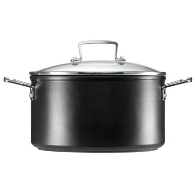 Toughened Nonstick Stockpot with Lid