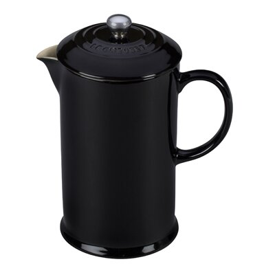 Stoneware 3.36 Cup French Press Color: Black Onyx PG8200-1031