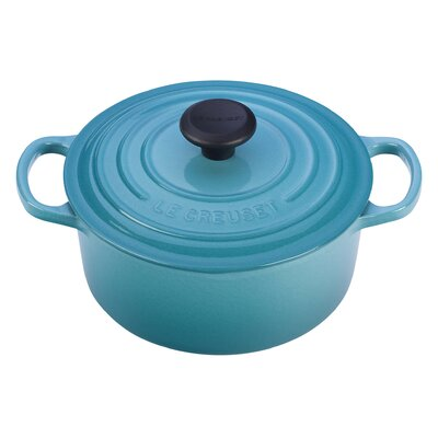Enameled Cast Iron 2-Qt. Round Dutch Oven