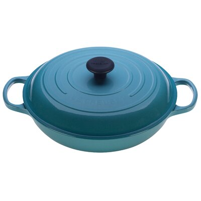 Enameled Cast Iron 3 1/2-Qt. Braiser with Lid