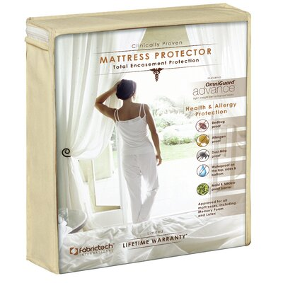"""PureCare by Fabrictech Advance Enclosure Mattress Protector - Size: Queen, Height: 14.5-20"""""""