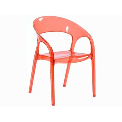 Orti Arm Chair Finish: Red