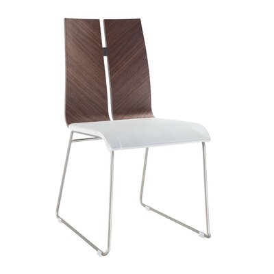 Lauren Side Chair Upholstery: White