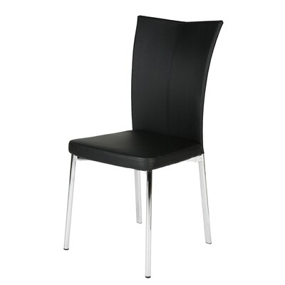 Alice Dining Chair Upholstery: Black