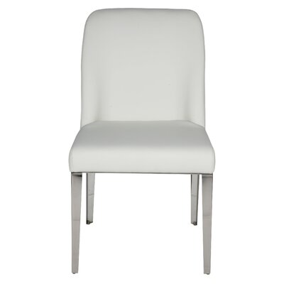 Amy Parsons Chair Upholstery: White
