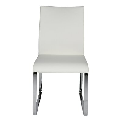 Lenny Dining Chair Upholstery: White