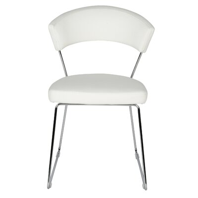 Rosy Dining Chair 2 Upholstery: White