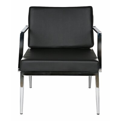 Nancy Armchair Color: Black