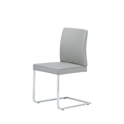 Ivy Dining Chair Upholstery: Grey