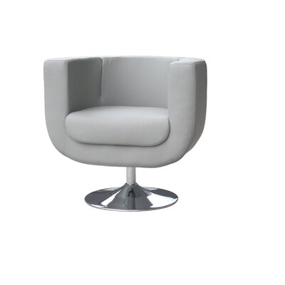 Bliss Barrel Chair Color: Grey