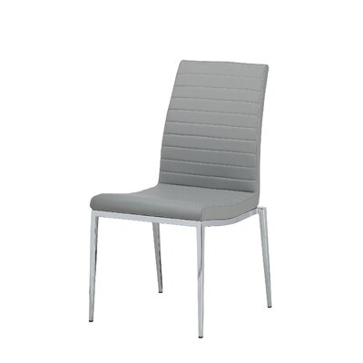 Zoe Dining Chair Upholstery: Grey