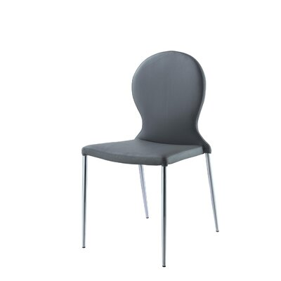 Sophia Side Chair Finish: Gray