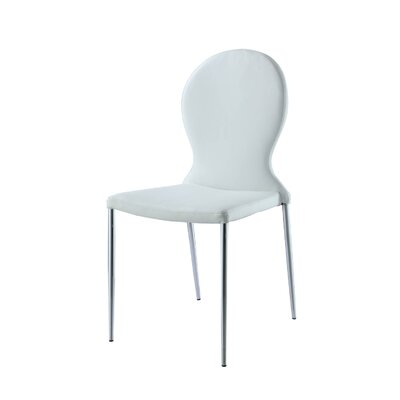 Sophia Side Chair Finish: White