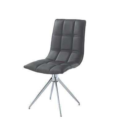 Apollo Side Chair Finish: Gray