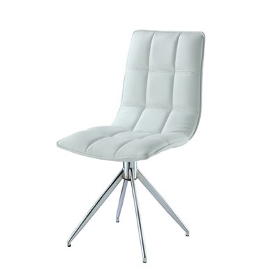 Apollo Side Chair Finish: White