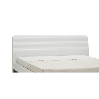 Liquido Upholstered Panel Bed Size: King