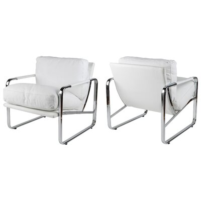 Magi Armchair Color: White