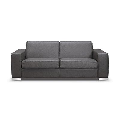 Alfa Sleeper Sofa Upholstery: Grey