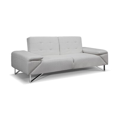 London Sleeper Sofa Upholstery: White
