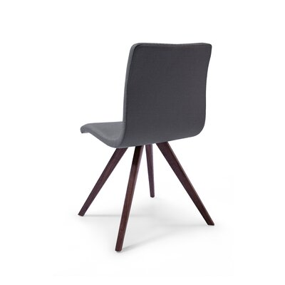 Olga Dining Chair Set Finish: Grey