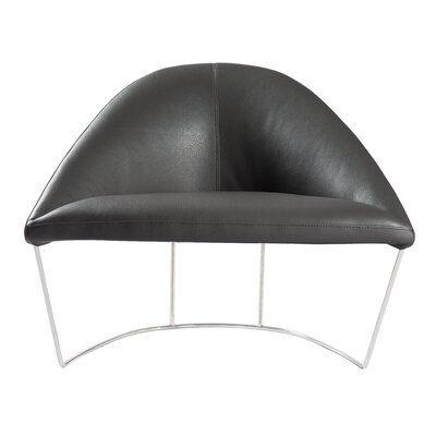 Travis Lounge Chair Upholstery: Dark Gray