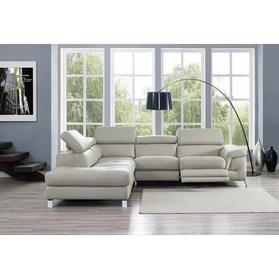 SL1350L-LGRY Whiteline Imports Sectionals