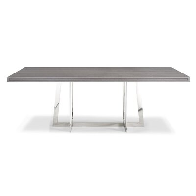 Georgie Dining Table Top Finish: Gray