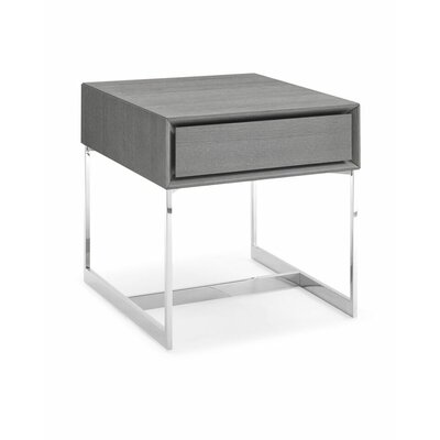 Lidia Metal End Table