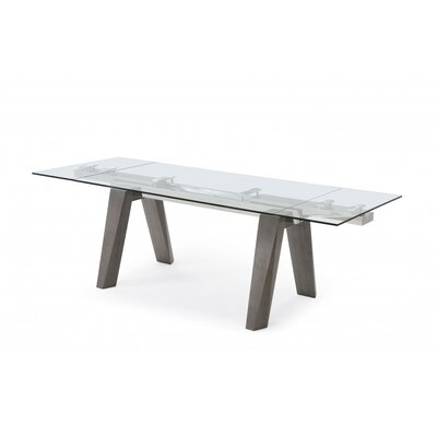 Valencia Extendable Dining Table Base Finish: Grey