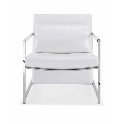 San Armchair Upholstery: White