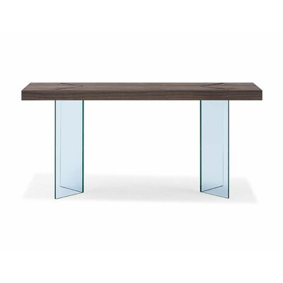 Gareth Console Table Table Top Color: White
