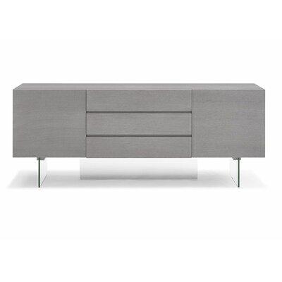 Gareth Buffet Table Color: Gray