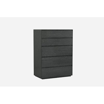 Barcroft 5 Drawer Chest Color: Gray