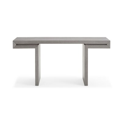 Daquane Console Table Color: Gray
