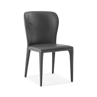 Tyerell Upholstered Dining Chair Color: Gray