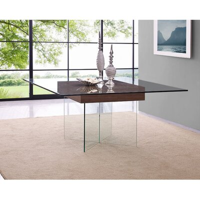Gareth Dining Table Base Color: Walnut