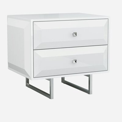 Aesara 2 Drawer Nightstand