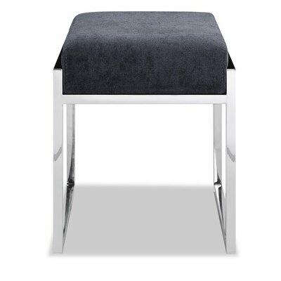 Ayako Ottoman Upholstery: Charcoal