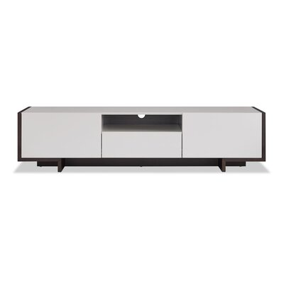 Plymouth 73 TV Stand Color: Taupe/Black