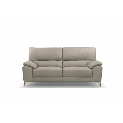 Podington Leather Sofa Upholstery: Taupe