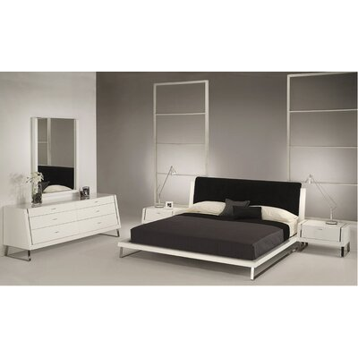 Whiteline Imports Bahamas Panel Headboard - Size: King, Color: White at Sears.com