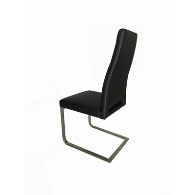 Ville Dining Chair Upholstery: Black
