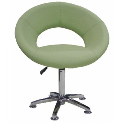 Orlando Swivel Papasan Chair Upholstery: Green