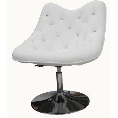Sandy Lounge Chair Upholstery: White