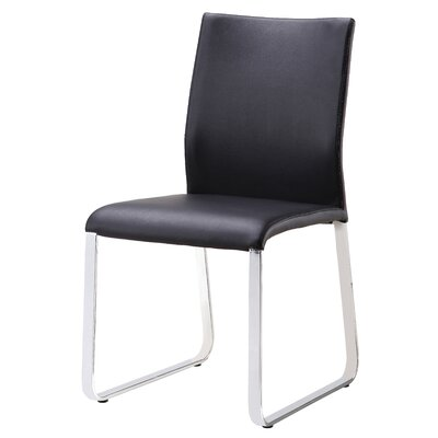 Lenny Dining Chair Upholstery: Black