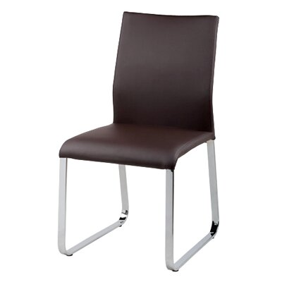 Lenny Dining Chair Upholstery: Brown